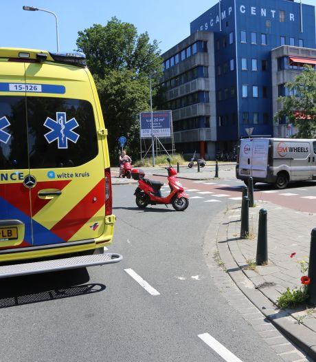 Gewonde en schade bij ongeval op de Escamplaan in Den Haag