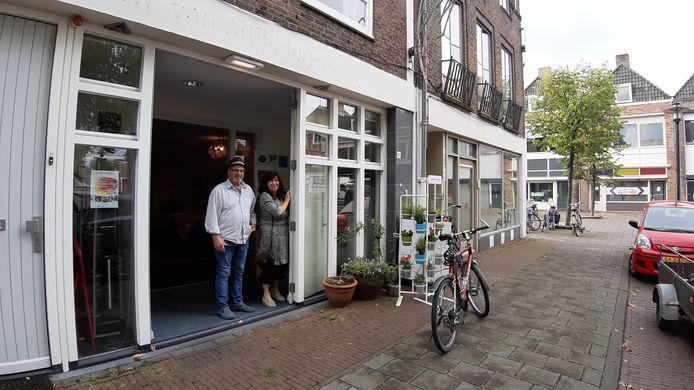 Theesalon De Struyck op het Nolensplein (voorheen Planciusplein).
