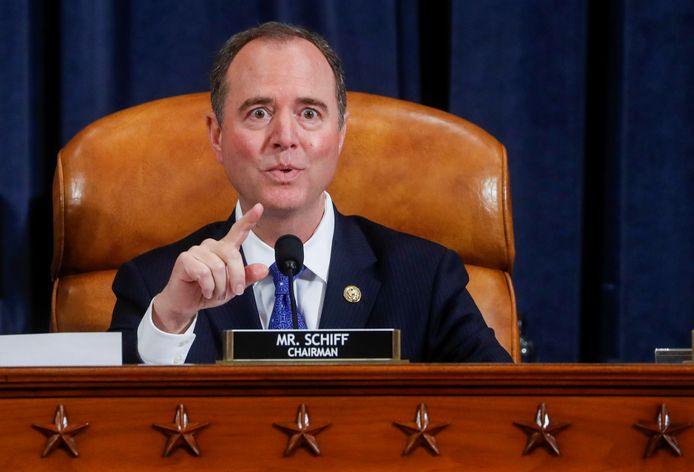 Adam Schiff, de Democratische voorzitter van de Inlichtingencommissie van het Huis van Afgevaardigden.