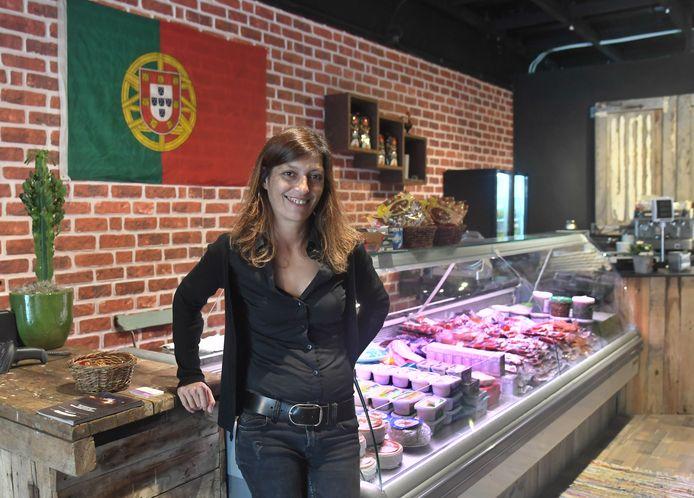 Catarina Duarte brengt Portugal in de Scheldestraat.