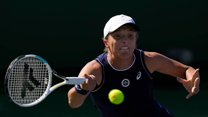 Svitolina en Swiatek uitgeschakeld op Indian Wells