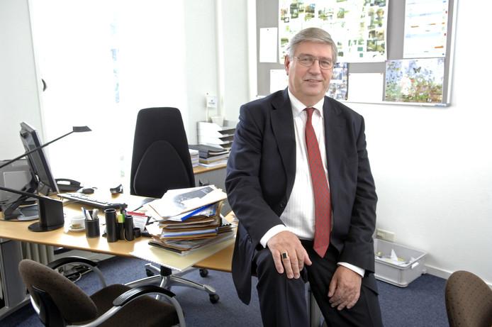 Ad van Beek in zijn laatste jaar als wethouder in Dongen (2017).