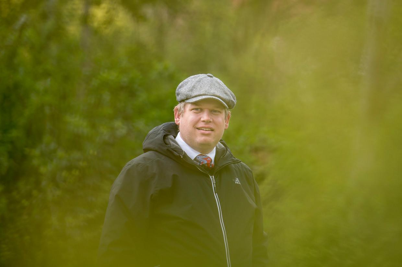 Rasmus Paludan, de oprichter van de Strakke Koers-partij.  Beeld EPA
