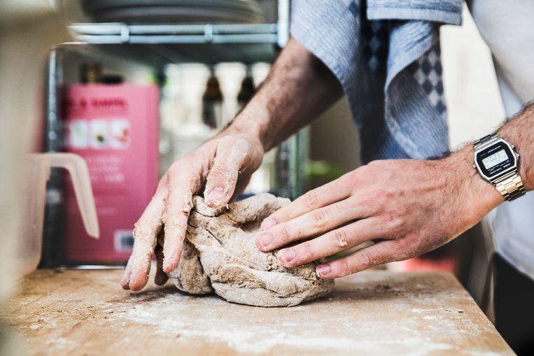 Pieter Bruurs: 'Ik was sowieso al fan van de artisanale bakker.' Beeld Aurélie Geurts