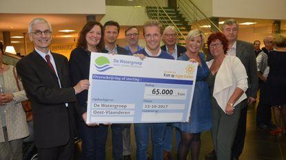 Jubileumeditie geeft 65.000 euro aan Kom op tegen Kanker