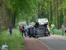Twee gewonden bij ernstig eenzijdig ongeluk in buitengebied Vorden