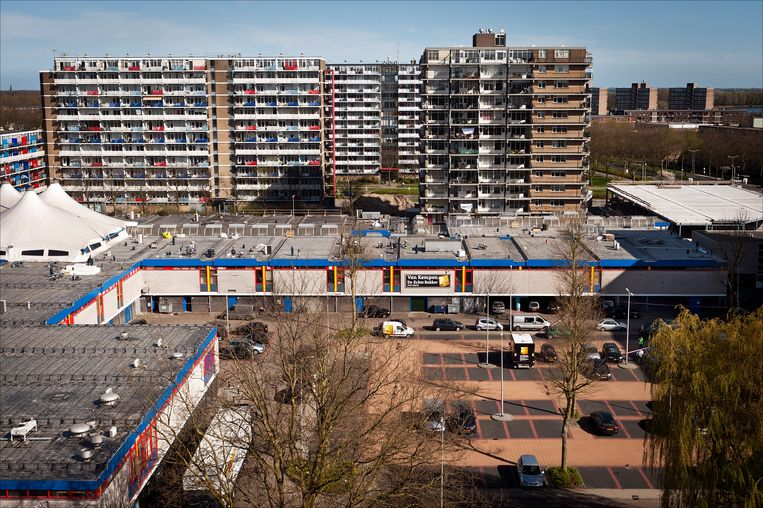 Winkelcentrum de Ridderhof in Alphen aan de Rijn. Beeld ANP