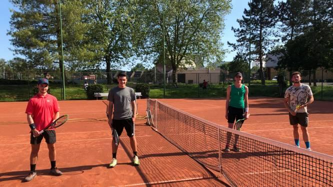 """TC Iris Kessel-Lo trapt Tennis Tour op gang in het enkelspel: """"Op twee weken tijd helemaal volzet"""""""