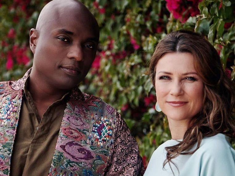 Durek Verrett en de Noorse prinses Märtha Louise.