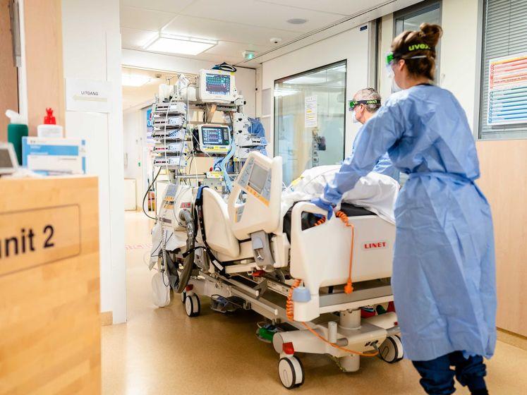 Ziekenhuizen nog steeds te vol