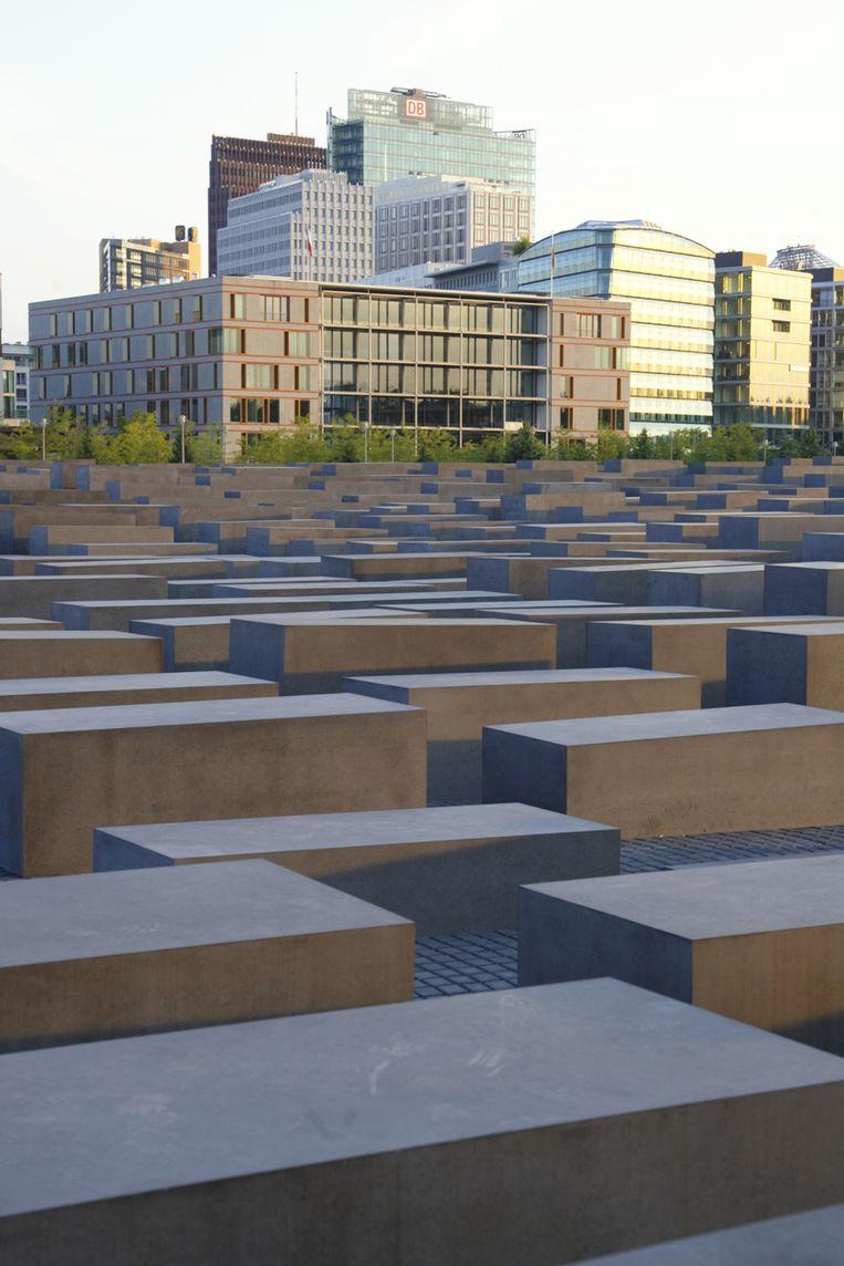 Het Holocaust Memorial Beeld UNKNOWN