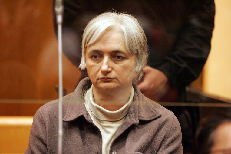 Monique Olivier weerlegde vorige week het alibi van haar voormalige echtgenoot in de verdwijningszaak. Ze zei dat ze zelf het telefoontje pleegde dat als alibi voor hem gold. Beeld AFP