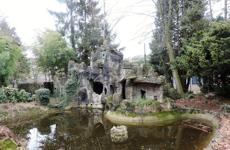 Deze grot van de Broeders van Liefde kan binnenkort verdwijnen, het was het laatste dossier waar De Decker zich in vastbeet.