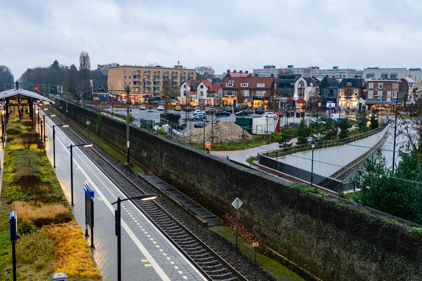 De gemeente De Bilt is geschrokken van bouwplannen bij het station Bilthoven.