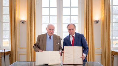 Gulden boek van Louise keert na 80 jaar terug naar kasteel d'Ursel