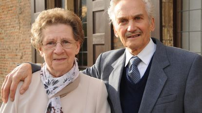 Gilbert en Irène zijn diamanten koppel