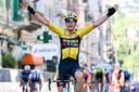 Wout Van Aert espère un cru 2021 aussi riche que le précédent, à l'image de cette victoire à Milan-Sanremo, la première pour lui dans Monument.