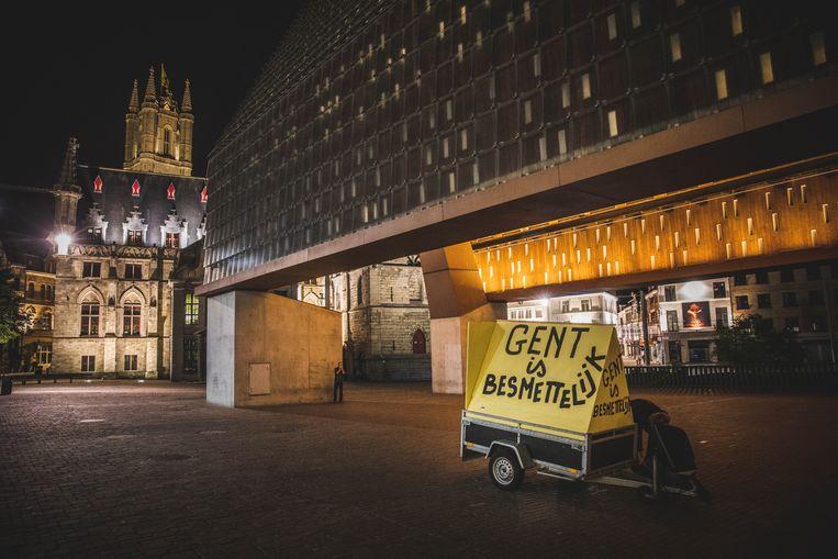 Gent is besmettelijk Beeld Wannes Nimmegeers