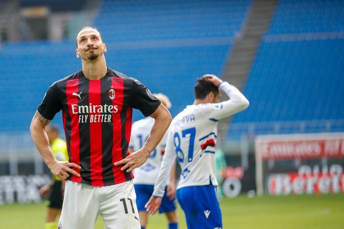 Zlatan Ibrahimovic valt van een voetstuk, zo vindt columnist Johan Gabriëls.
