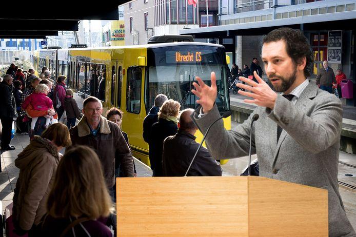 Als fractievoorzitter van de ChristenUnie voerde Arne Schaddelee de afgelopen jaren fel oppositie tijdens de Uithoflijncrisis. Nu is hij zelf politiek verantwoordelijk voor het debacle met de sneltram naar Nieuwegein/IJsselstein.
