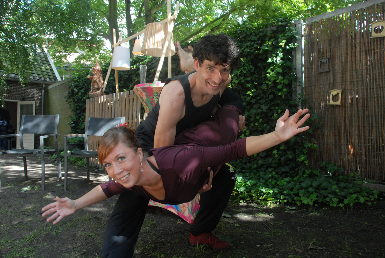 Het dansduo Bernadette Besselink – Jeroen Lammertink