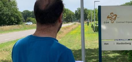 Saif (42) eet en drinkt niet meer in azc om woning in Zwolle af te dwingen: 'Ik ga door'