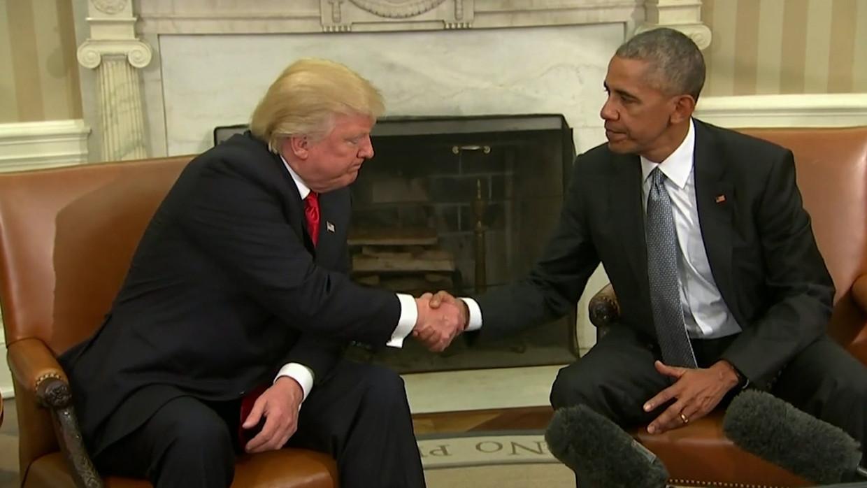 Trump & Obama Beeld VTM