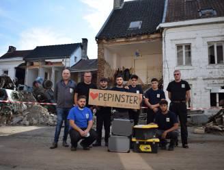 Brusselse leerlingen helpen mee aan heropbouw zwaar getroffen school in Pepinster