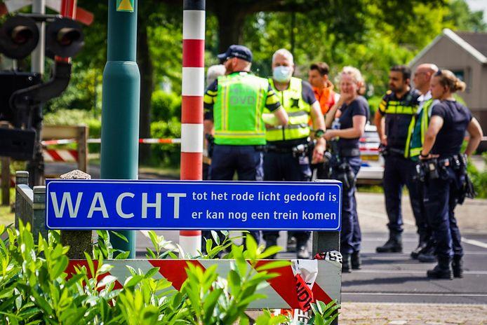 Ongeluk op het spoor in Helmond