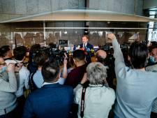 Pieter Omtzigt even terug in Tweede Kamer: getergd en aangeslagen