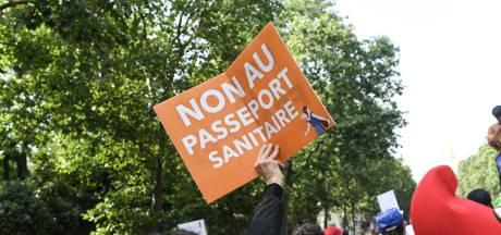 161.000 manifestants dans les rues de France contre le pass sanitaire