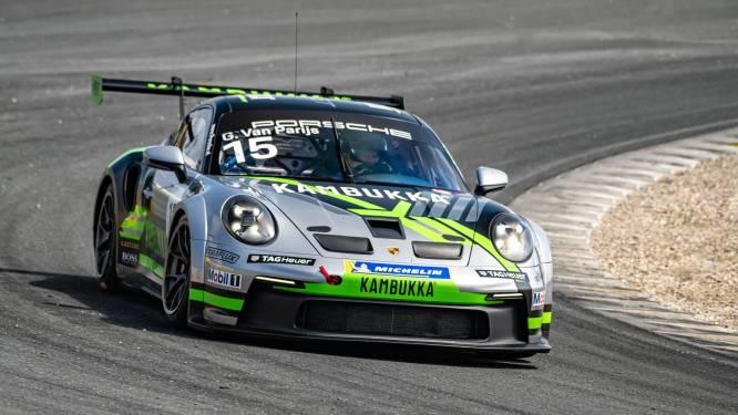 """Glenn van Parijs op zoek naar titel in Porsche Cup: """"Het moet beter in de drie resterende meetings"""""""