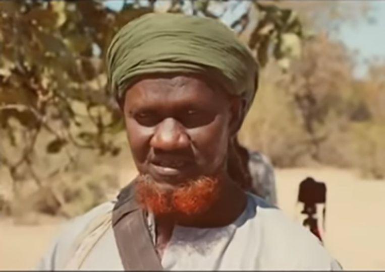 Hamadoun Koufa duikt  af en toe op in video's waarin  hij oproept tot de jihad.  Beeld