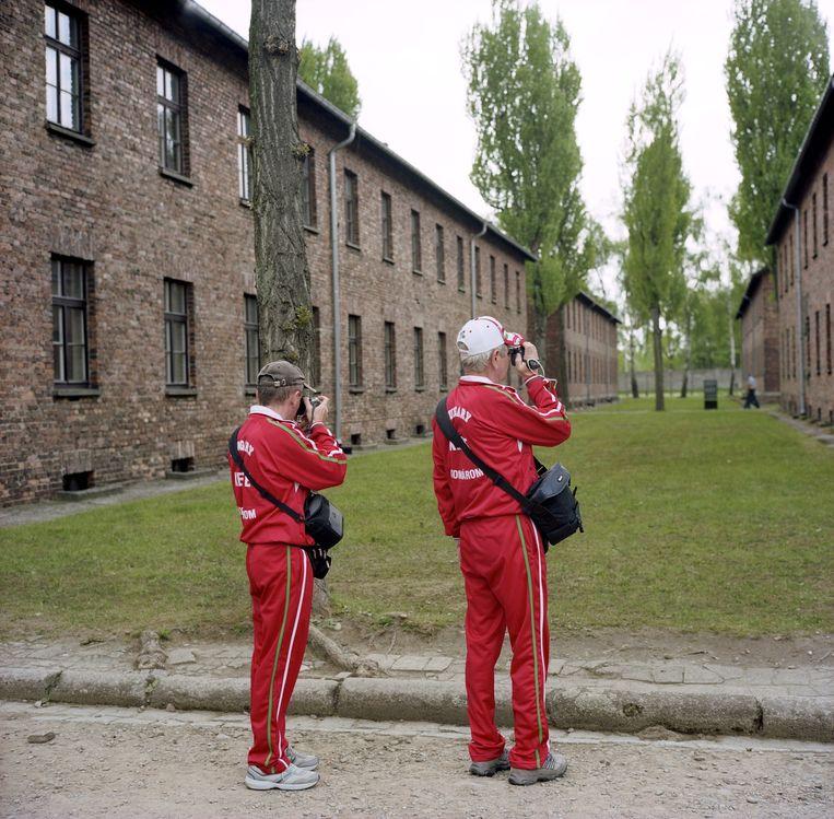 Auschwitz was een Nazi-Duits vernietigings- en concentratiekamp bij de Poolse stad Auschwitz (Pools: Oswiecim, Jiddish: Oshpitzin). Miljoenen mensen, merendeels Joden, zijn in dergelijke kampen om het leven gekomen. Beeld Roger Cremers