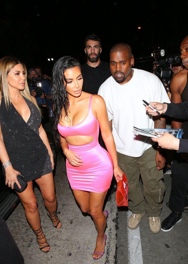 Kim Kardashian en haar man Kanye West zijn er uiteraard ook bij.