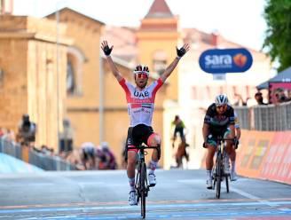 Ulissi vloert Sagan op hellende aankomst in Ronde van Italië, Ganna behoudt roze trui