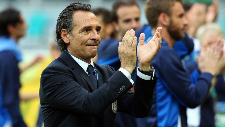 Cesare Prandelli is trots op zijn Italië. Beeld getty