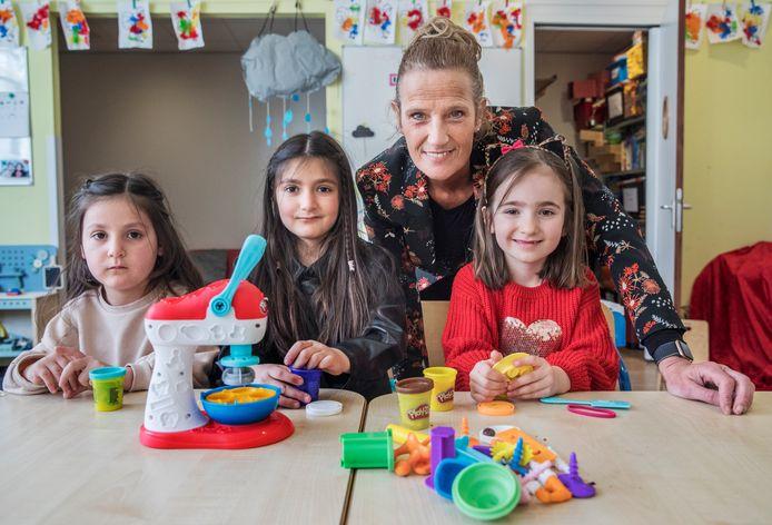 Unitmanager Nancy de Ruyter bij kinderopvang Tirza.