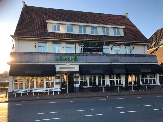 Zalencentrum Vivaldi in Oss. Het zalencentrum gaat verdwijnen en wordt een restaurant.