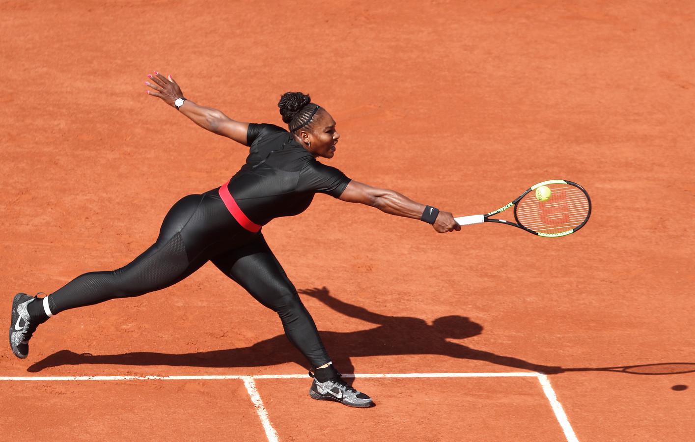 "Serena in catsuit ""Voel me een superheld in dit pak"" | Foto | hln.be"