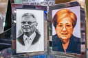 De foto van oprichters pa en ma Zandboer staat nog steeds in de winkel.