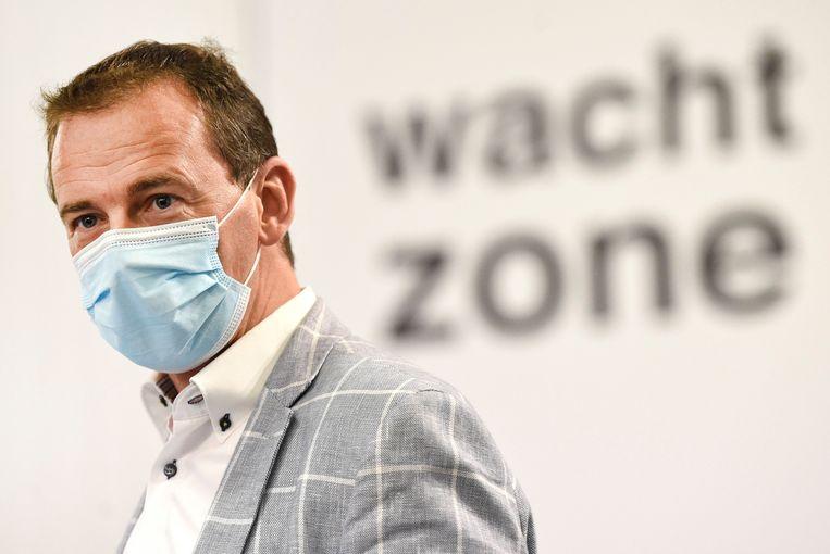 Minister Wouter Beke benadrukt dat elke euro van het voorziene budget wel degelijk wordt uitgegeven, ook al is dat met enige vertraging. Beeld Photo News