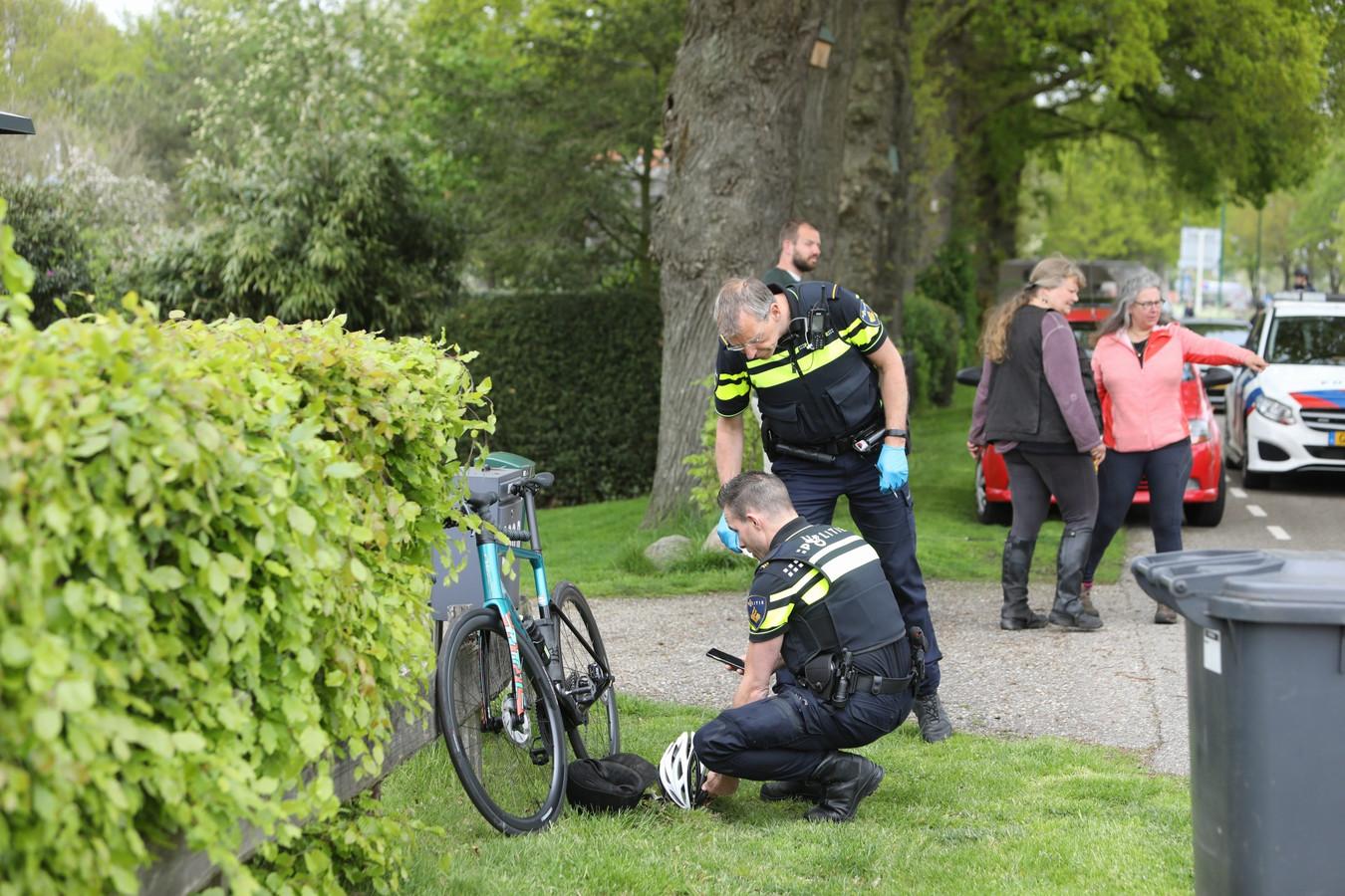 De fietser raakte gewond na een aanrijding met een paard.