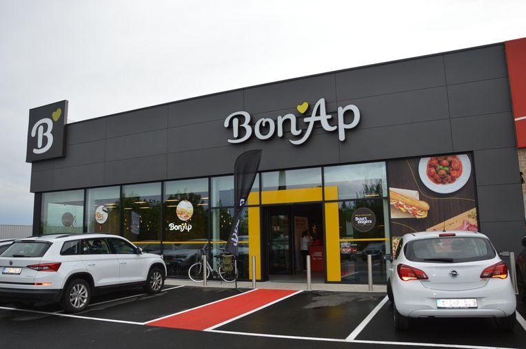 De nieuwe Bon'Ap-maaltijdwinkel langs de Ring-West in Ninove.