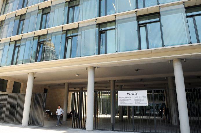 Le bâtiment Portalis, siège du parquet de Bruxelles.