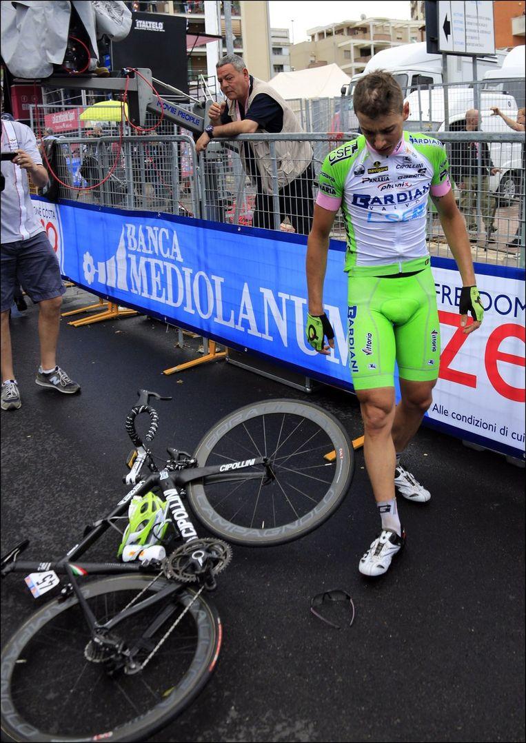 Marco Canola was dicht bij de zege. Beeld PHOTO_NEWS