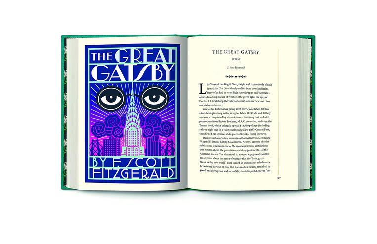 Pagina's uit 'Ex-libris', het boek van Kakutani. Beeld rv