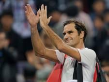 Coric klopt Federer en berooft Shanghai van droomfinale