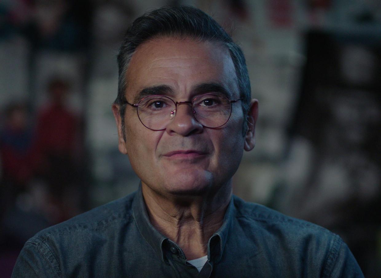 Antonio Andronico, zoon van Italiaanse inwijkelingen, in 'De kinderen van de migratie'. Beeld VRT