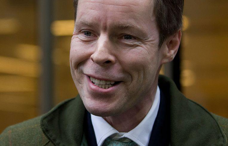 George Bingham, zoon van Lord Lucan, is blij met het oordeel van de rechtbank, maar plant verder onderzoek. Beeld AFP